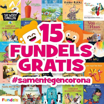 Fundels. Digitale kinderboeken voor ouders in Coronanood