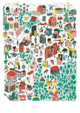 affiche sticker vel imago campagne bibliotheken