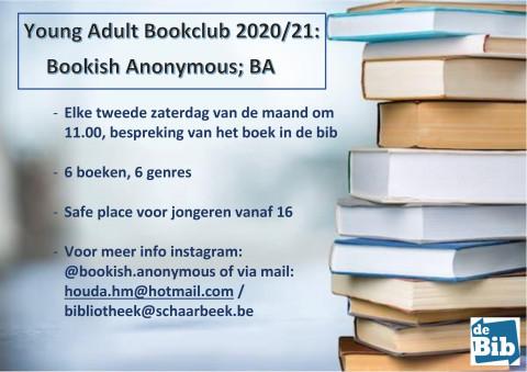 stapel boeken met alle informatie voor de boekenclub